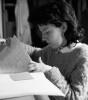 Paola alla contabilità 1984